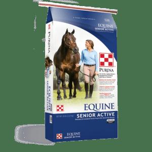 Purina Equine Senior Active Horse Feed