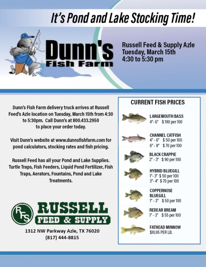 Russell_Fish Truck Flyer_Dunn's at Azle