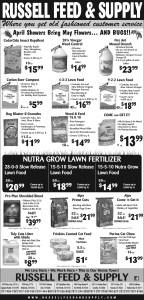 May Newspaper Ad Specials