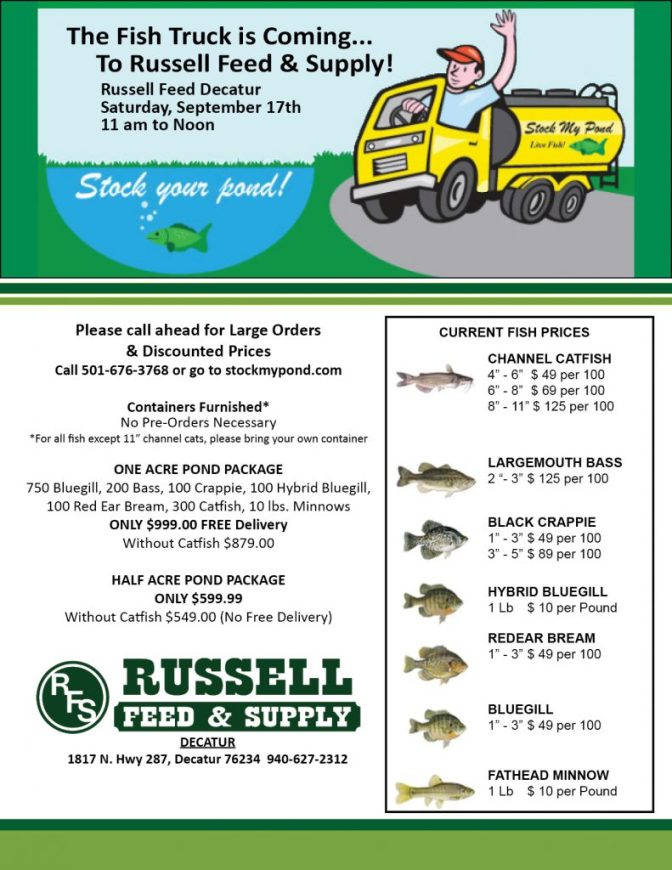 Fish Truck Delivery