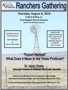 2019 Ranchers Gathering in Decatur, Texas