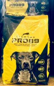 Diamond Pro89 Dog Food for performing dogs at Russell Feed & Supply.