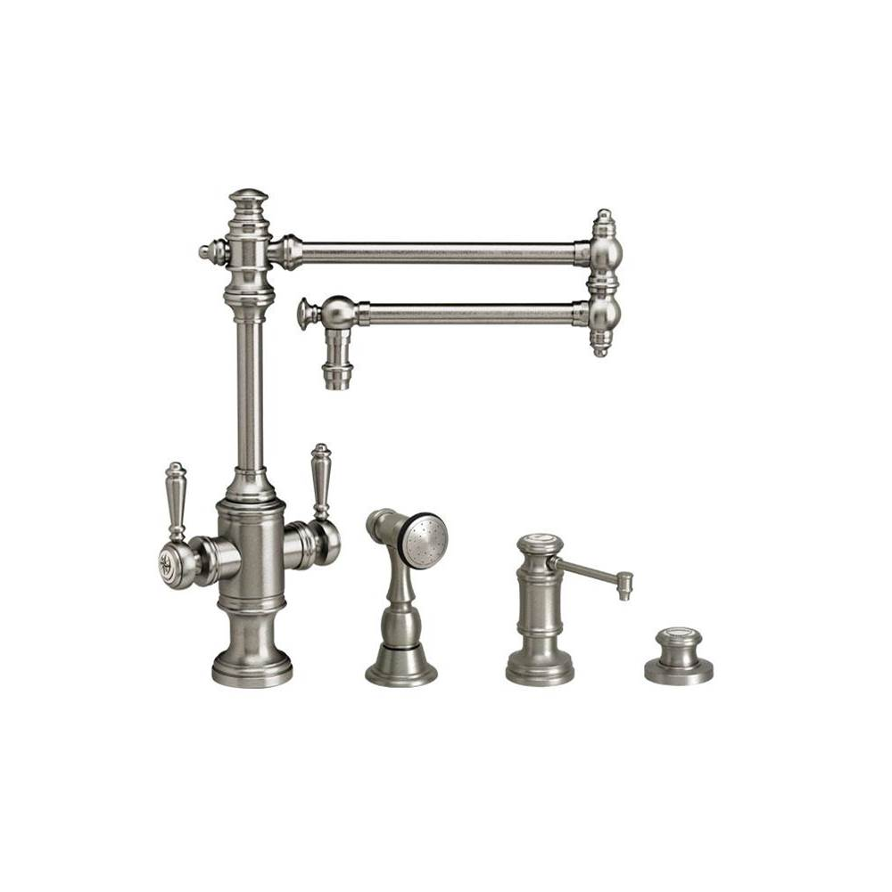 pewter kitchen faucet apron sink faucets russell hardware plumbing showroom waterstone single hole item 8010 18 3 ap