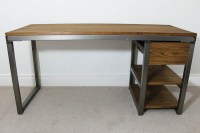 Vintage Industrial Office Desks Bespoke UK | Russell Oak ...