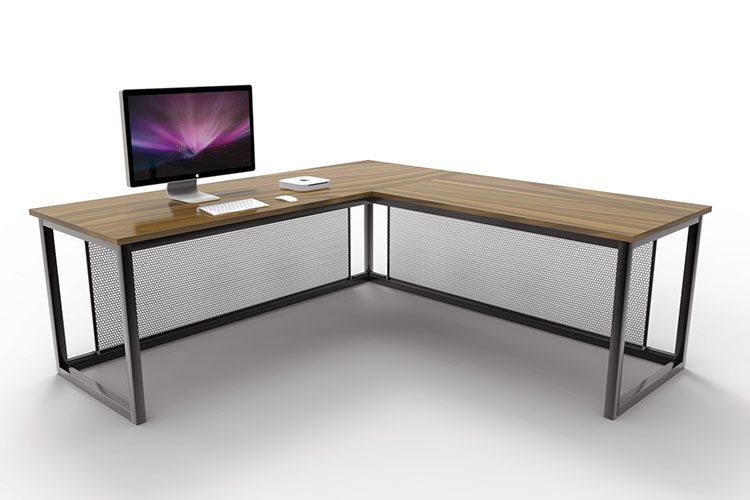 Otis Industrial Corner Desk