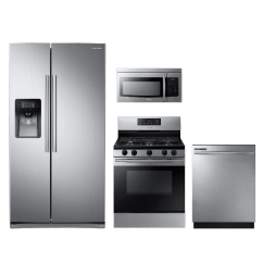 Kitchen Package Floor Mats For Samsung 4 Piece Stainless Steel Sakitnx58k3310ss