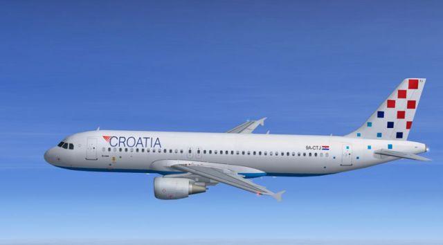 Croatia Airlines начинает полеты из Санкт-Петербурга в Загреб