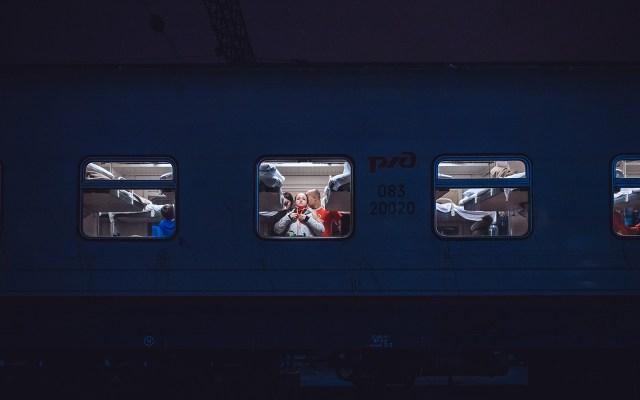 Pogled na vagon izvana