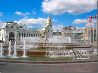 Kievski kolodvor u Moskvi