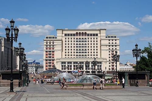 Hoteli u Moskvi 2018.
