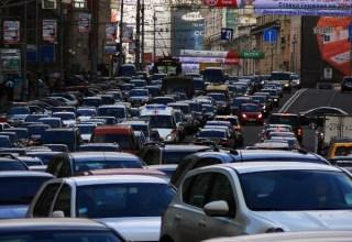 Gužve na moskovskim ulicama