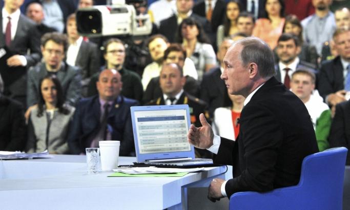 Putin Direktna linija