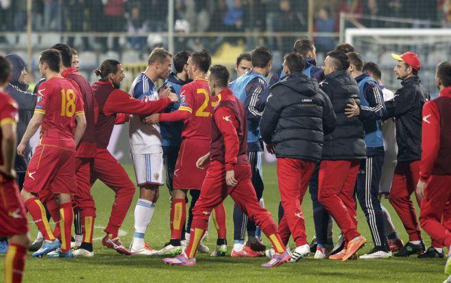Russia-Montenegro-football