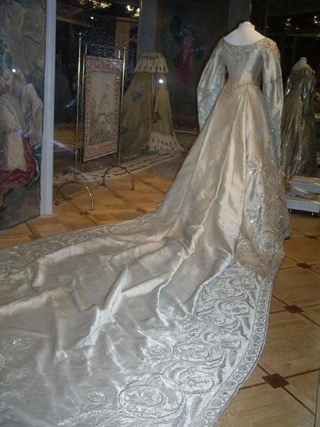 haljina carice Aleksndre Fjodorovne