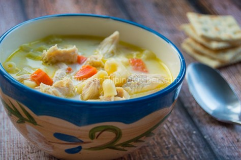 Chicken Sopas Filipino-Style (Creamy Chicken Macaroni Soup) 13