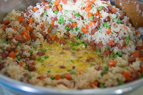 Easy Hot Dog Fried Rice 10