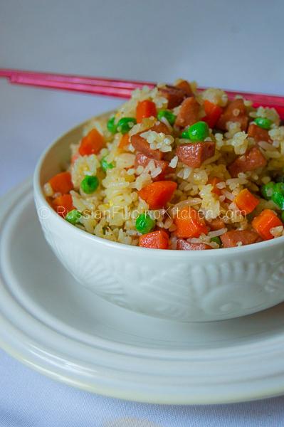 Easy Hot Dog Fried Rice 13