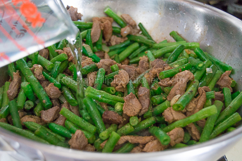 Sauteed Green Beans With Pork 13
