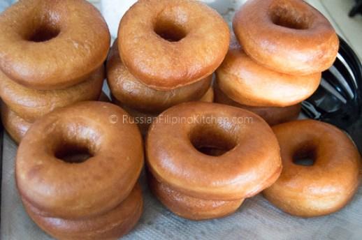 Easy Homemade Glazed Donuts 17