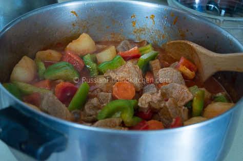 Filipino Pork Afritada 17