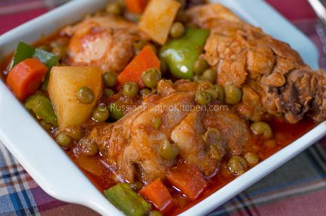 Filipino Chicken Caldereta 17a