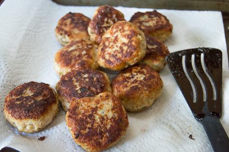 Chicken Kotleti (Russian-style Meatballs) 14