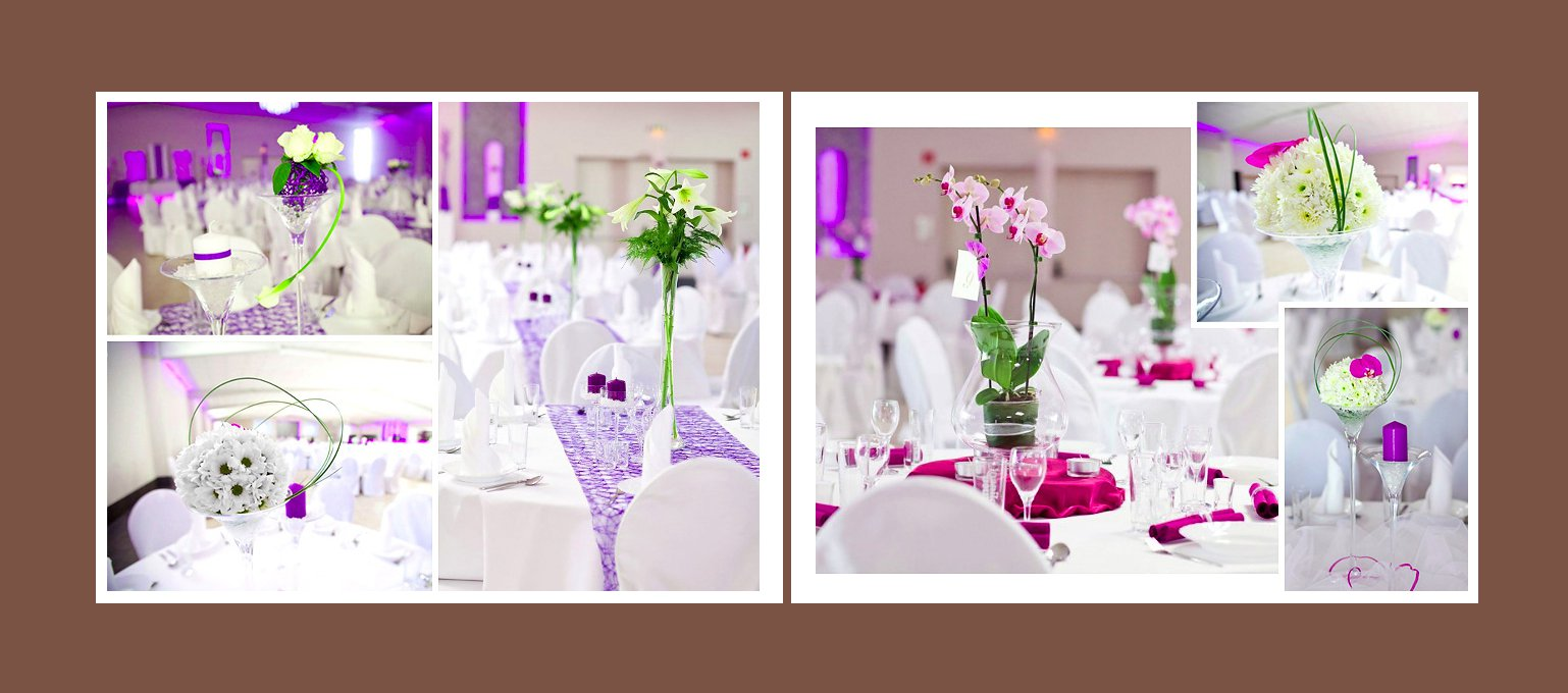 Hochzeitsdeko Tisch Beispiele