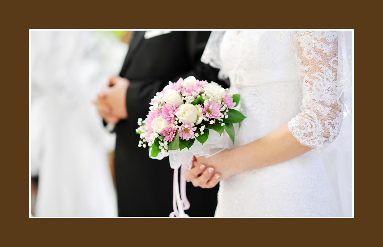Deko Kirche  Russische Hochzeit in Deutschland