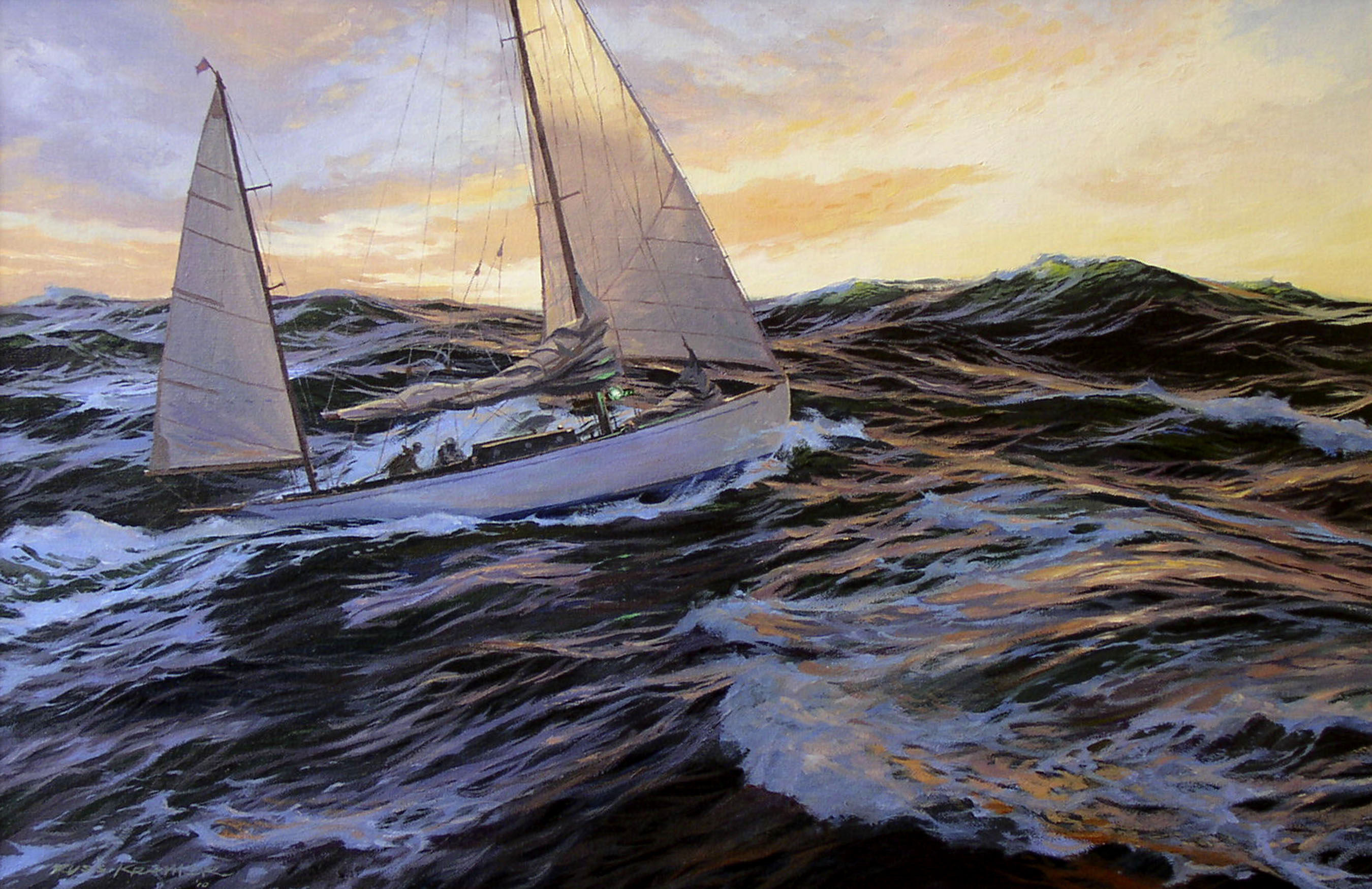 Gallery Russ Kramer Marine Artist