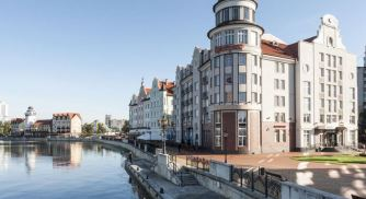 Hotel Kaiserhof Kaliningrad-Fassade