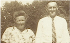 Photo: Mom and Dad in 1943