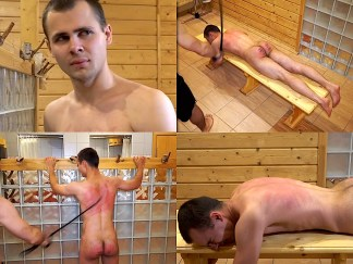 Boy back whipping corporal punishment