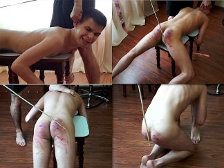 Boy caning video