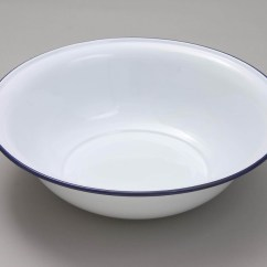 Kitchen Counter Options Stainless Steel Table Falcon Enamel Bowl Round 36cm