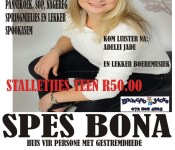 SPESBONA poster