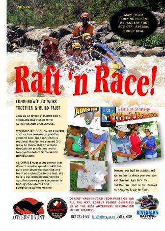 otters' haunt riverman rafting