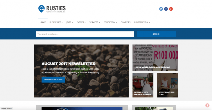 rustenburg website