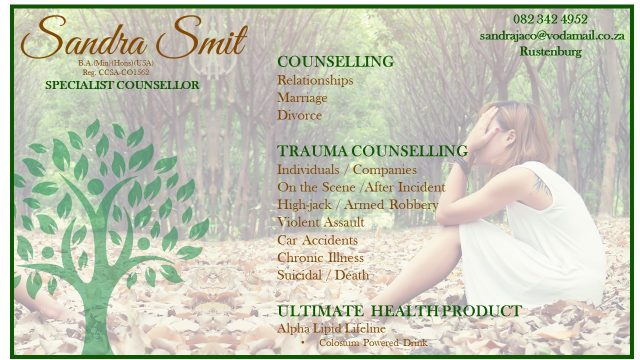 sandra smit counselor