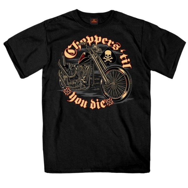 T-shirt Choppers Die - Rust Factory