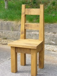 Rustic Dining Chair | Rustic Plank Furniture