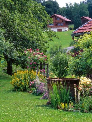 Jardin difficile  le jardin de montagne