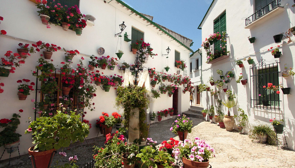 Rustic Blue Holiday Guide to Andalucia Spain  Priego de