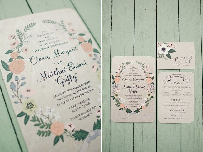 8 Whimsical Fl Wedding Invitations