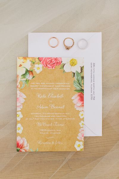 Whimsical Wedding Stationery Set