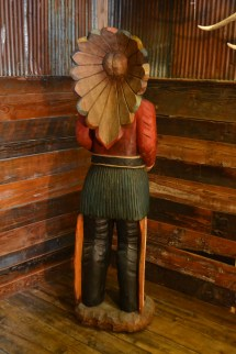 6' Cigar Store Indian Rustic Furniture Mall Timber Creek