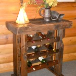 Reclaimed Barnwood Wine Rack Rustic Furniture Mall By Timber Creek