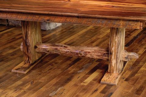 Rustic Log  Reclaimed Barn Wood Furniture  Rustic