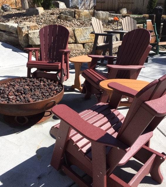 rustic mountain furnishings
