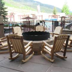 Outdoor Rocking Chairs R Aspen Log Chair Rustic Furniture Of Utah