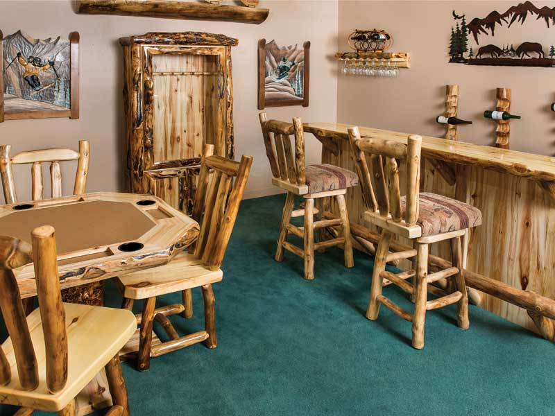 Rustic Log Furniture of Utah  Furniture  Cabin Decor